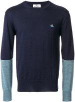 Vivienne Westwood colour block sweater