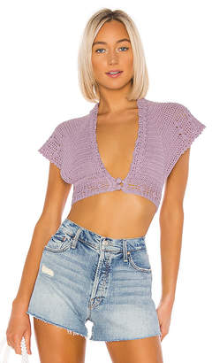 LPA Crochet Crop Cardi