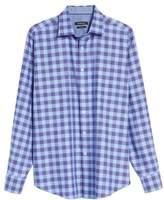 Bugatchi Classic Fit Woven Check Sport Shirt