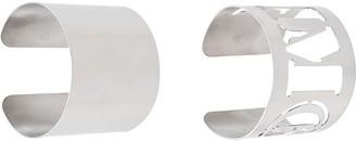 MM6 MAISON MARGIELA logo arm cuff bracelet