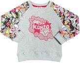 Kenzo Cactus Printed Cotton Sweatshirt