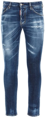DSQUARED2 Cool Guy Jeans With Pocket Logo Print