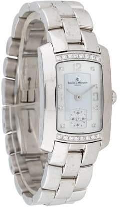 Baume & Mercier Hampton Milleis Diamond Watch