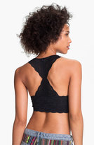 Free People Women's Racerback Galloon Lace Bralette