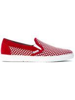 Jimmy Choo star embellished sneakers