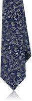 Lanvin Men's Koi Fish-Print Silk Foulard Necktie