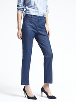 Banana Republic Sloan-Fit Denim Ankle Pant