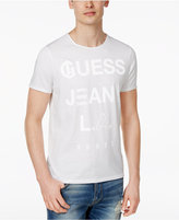 GUESS Men's Play Logo Cotton T-Shirt
