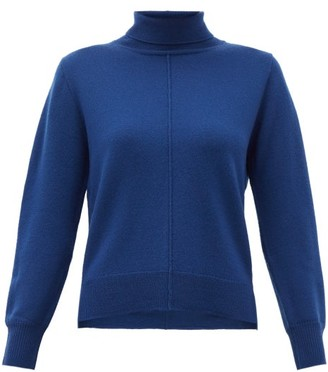 Sea Nora Roll-neck Wool Sweater - Womens - Blue