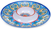 Certified International Melamine Tuscany Chip & Dip Platter
