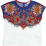 Dolce & Gabbana Embellished Cotton Jersey T-Shirt