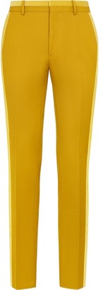 Fendi Tailored Two-Tone Trousers