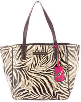 Diane von Furstenberg Abstract Print Tote