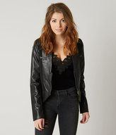 Blanc Noir Be by Faux Leather Jacket