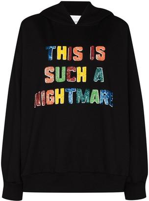 Ashish Beaded Hooded Sweatshirt