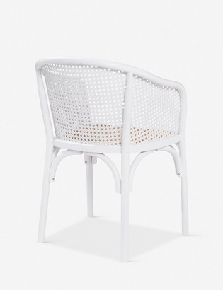 Lulu & Georgia Summer Dining Chair, White (Set of 2)