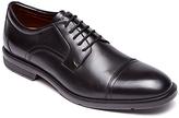 Rockport City Smart Toe Cap Derby Shoes, Black