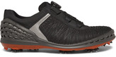 Ecco Cage Rubber-panelled Mesh Golf Shoes - Black