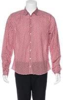 Gucci Printed Woven Shirt w/ Tags