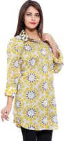 JaipurSe Maternity Postpartum Pregnant Moms Printed Voile Shirts For Daily/Office/Casual Wear
