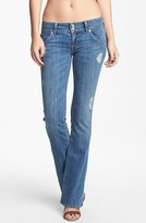 Hudson Jeans Triangle Pocket Bootcut Stretch Jeans (Vintage Napoli) (Petite)
