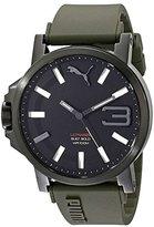 Puma Men's PU103911002 Ultrasize 50 Analog Display Quartz Green Watch