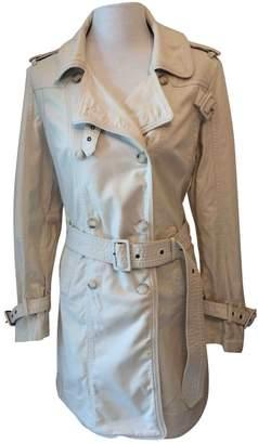 Steffen Schraut Beige Cotton Trench Coat for Women