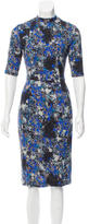 Erdem Printed Knit Dress