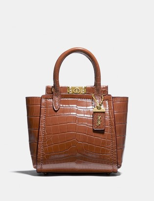 Coach Troupe Tote 16 In Alligator