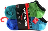 Quiksilver Men's Low Cut Sport Socks - Pack of 6 Unique Pairs