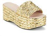 Aperlaï Orianna Braided Flatform Sandals