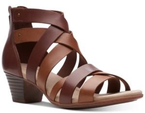 Clarks Collection Women's Valarie Dream Dress Sandals Women's Shoes