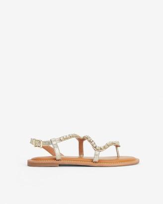 Express Embellished Thong Sandals