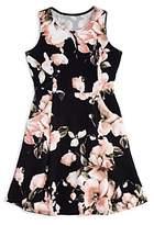 Aqua Girls' Floral Dress, Big Kid - 100% Exclusive