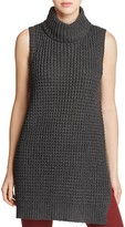John & Jenn John + Jenn Sleeveless Knit Turtleneck Tunic - 100% Exclusive