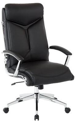 Executive Chair Office Star Products Color: Black