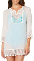 Jantzen Semi-Sheer Tunic Cover Up