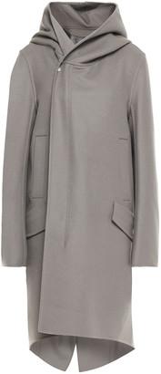 Rick Owens Wool-blend Felt Hooded Coat