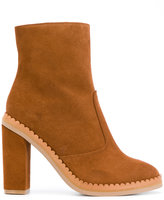 See by Chloe scalloped sole ankle boots