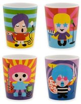 French Bull Rock Star Kids Juice Cups (Set of 4)