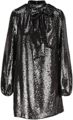 No.21 N21 Pussybow Sequin Shift Dress