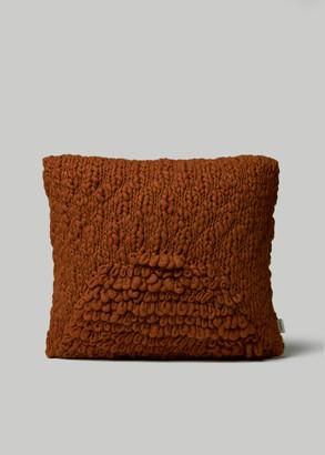 Minna Exclusive Moon Pillow in Terracotta