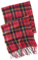 Old Navy Plaid Flannel Fringe Scarf for Men