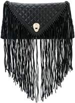 Thomas Wylde fringed quilted clutch