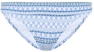 Heidi Klein Malta printed bikini bottoms