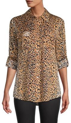 le superbe Cheetah-Print Walking Safari Shirt