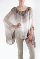 Catwalk Dipdyed Blouse, Tan