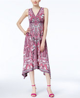 INC International Concepts Handkerchief-Hem Midi Dress, Only at Macy's