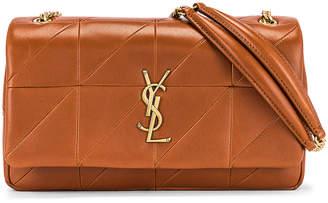 Saint Laurent Medium Jamie Monogramme Chain Bag in Brick | FWRD