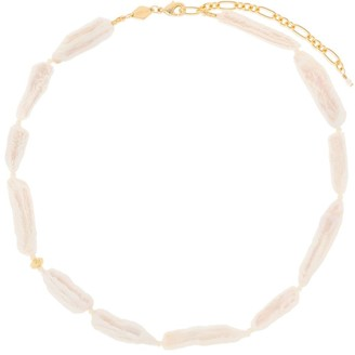 Anni Lu 18kt Gold Plated Brass Pearl Necklace